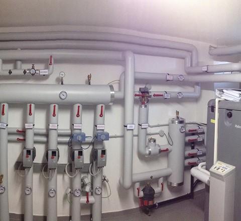 Centrale termica impianto ibrido